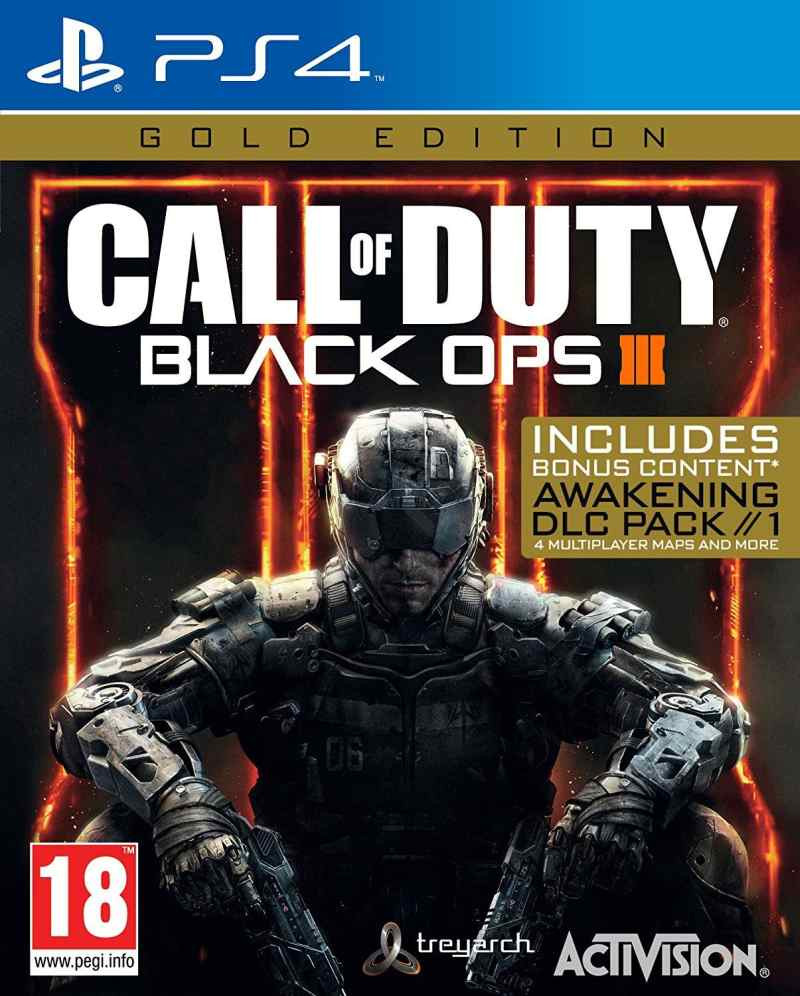 PS4 Call of Duty - Black Ops 3 - Gold Edition