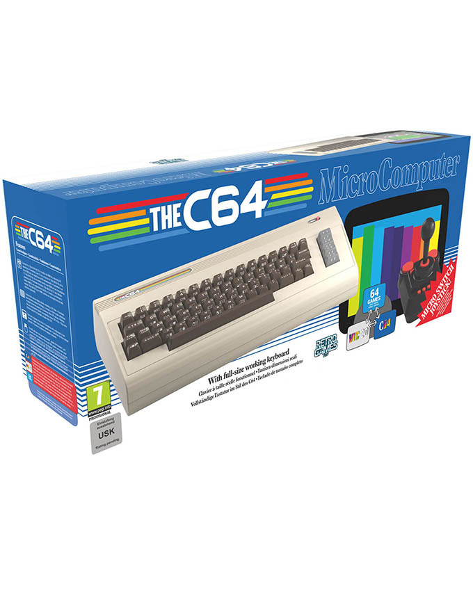 Konzola The C64 - Commodore 64 RETRO