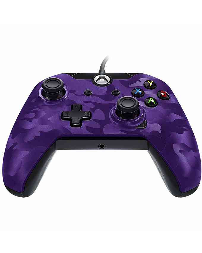 Gamepad PDP Wired Deluxe Controller Purple Camo XB1 / PC