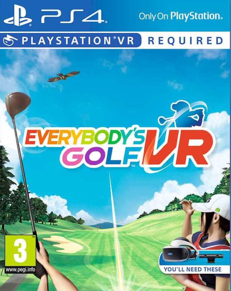 PS4 Everybodys Golf VR
