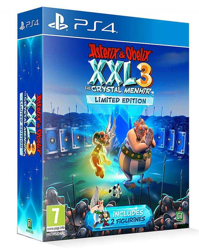 PS4 Asterix and Obelix XXL 3 - The Crystal Menhir Limited Edition