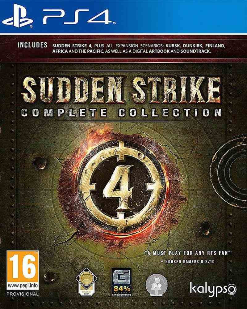 PS4 Sudden Strike 4 - Complete Edition