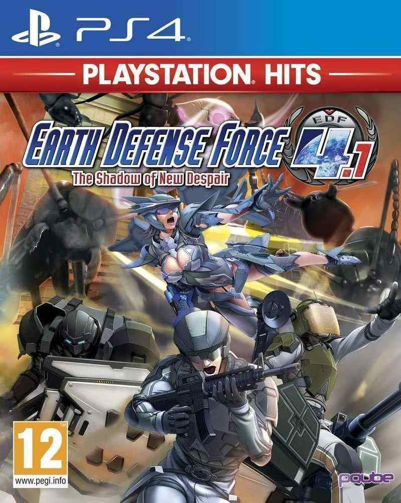 PS4 Earth Defence Force 4.1 - The Shadow of New Despair