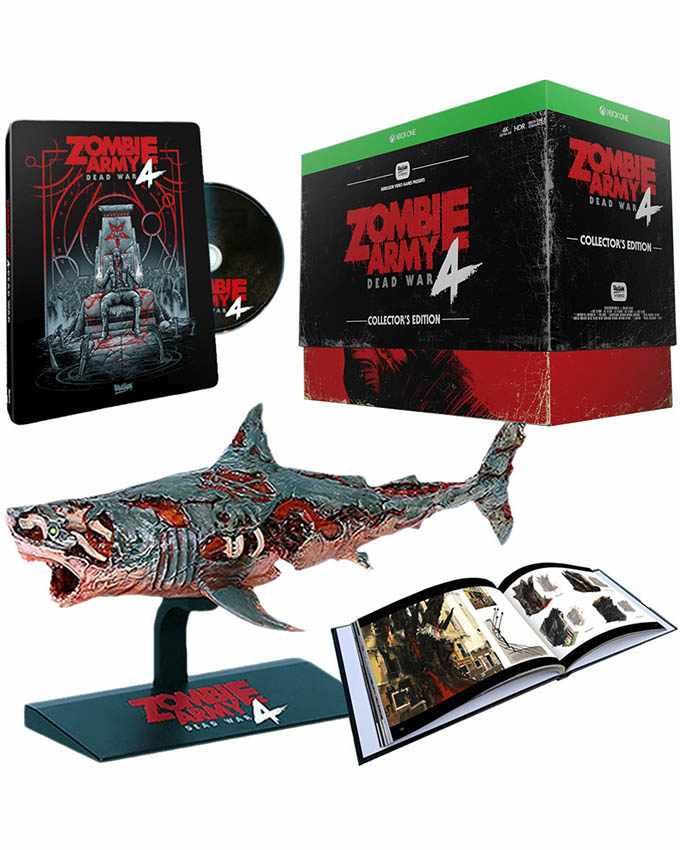 XBOX ONE Zombie Army 4 - Dead War - Collectors Edition