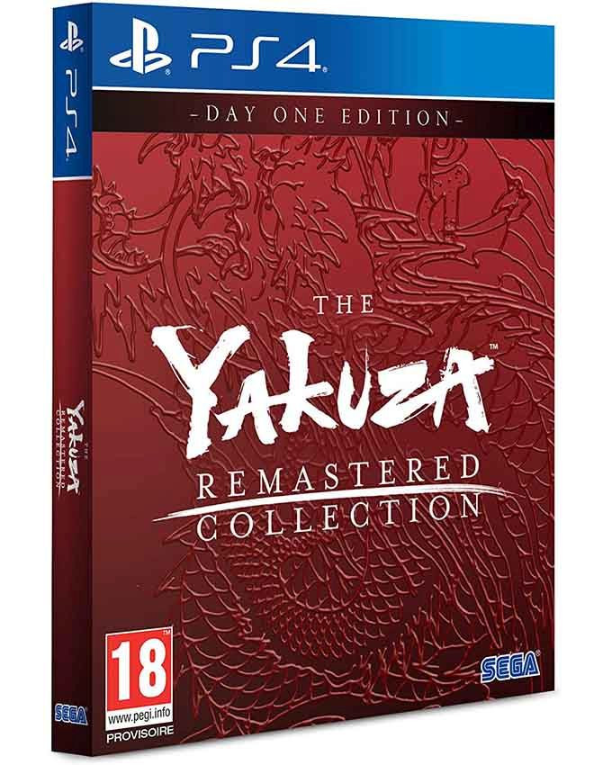 PS4 Yakuza Remastered Collection - Day One Edition