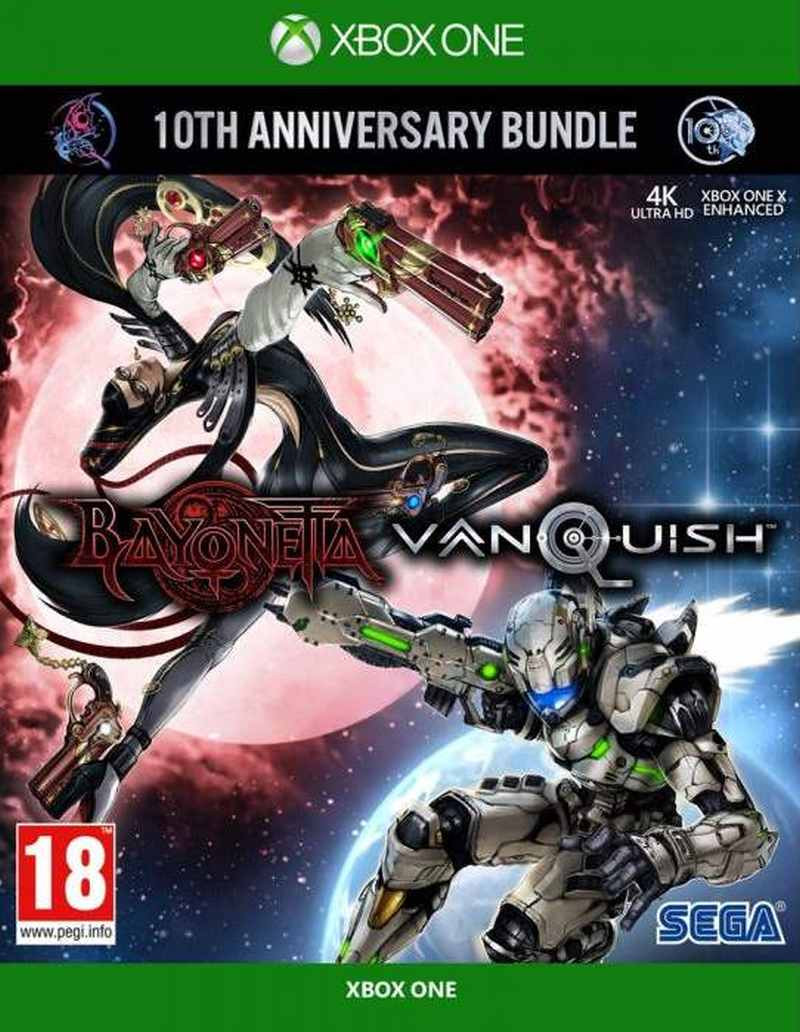 XBOX ONE Bayonetta and Vanquish 10th Anniversary Bundle