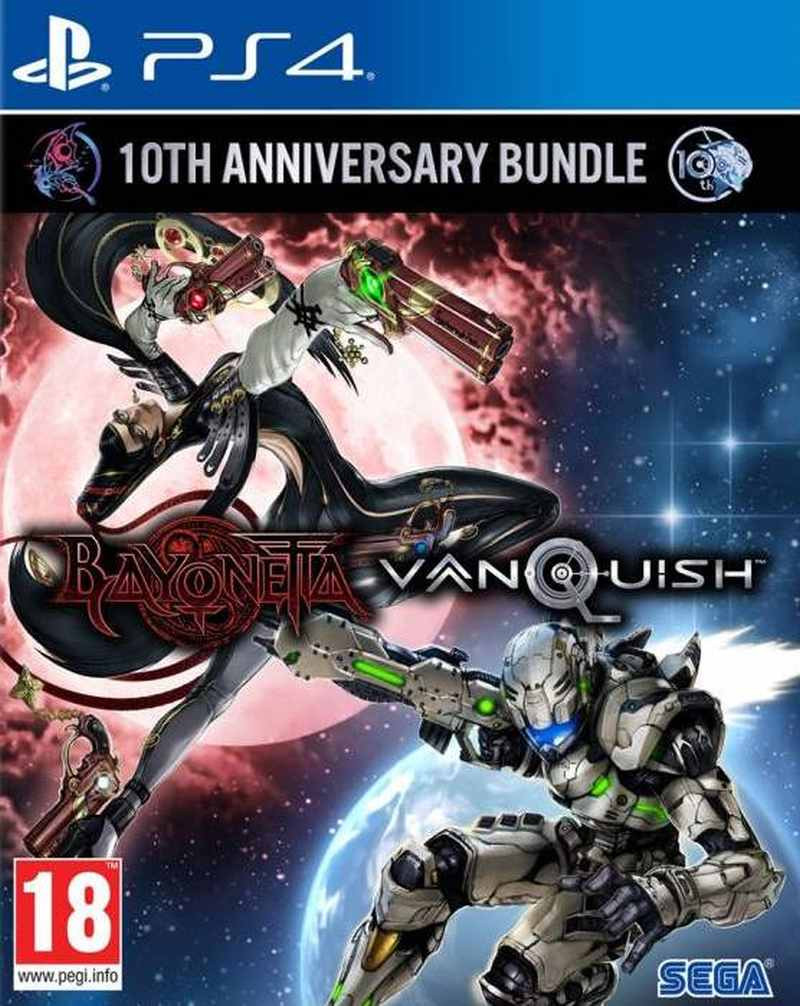 PS4 Bayonetta and Vanquish 10th Anniversary Bundle