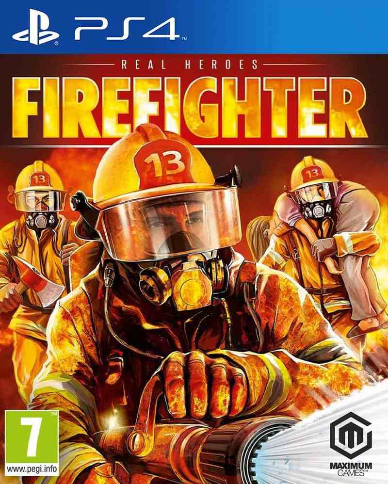PS4 Real Heroes - Firefighter
