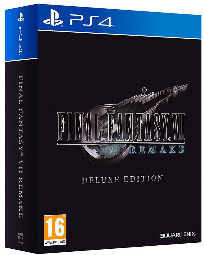 PS4 Final Fantasy VII Remake - Deluxe Edition