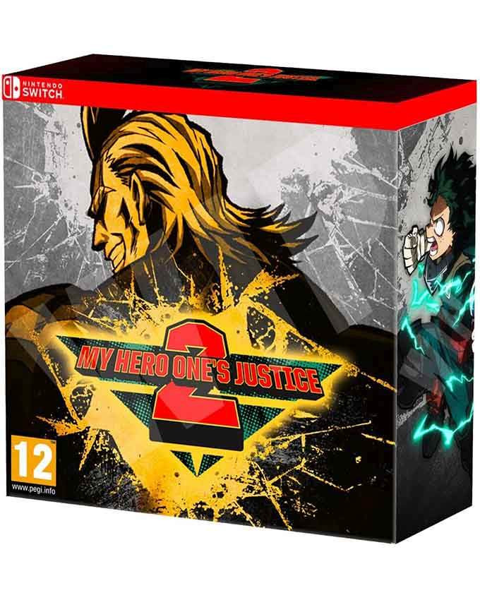 SWITCH My Hero Ones Justice 2 - Collectors Edition