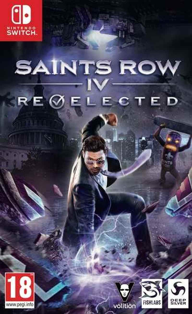 SWITCH Saints Row IV Re-Elected