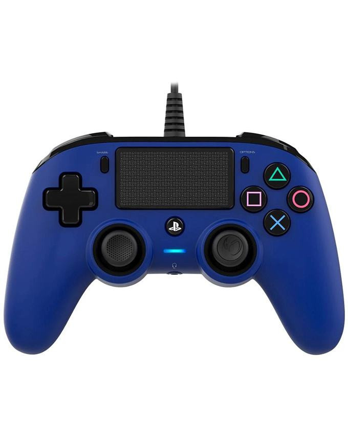 Gamepad Nacon PS4 Wired Compact Blue