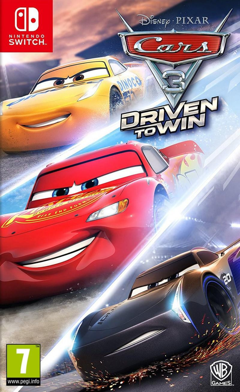 SWITCH Cars 3 - Driven to Win