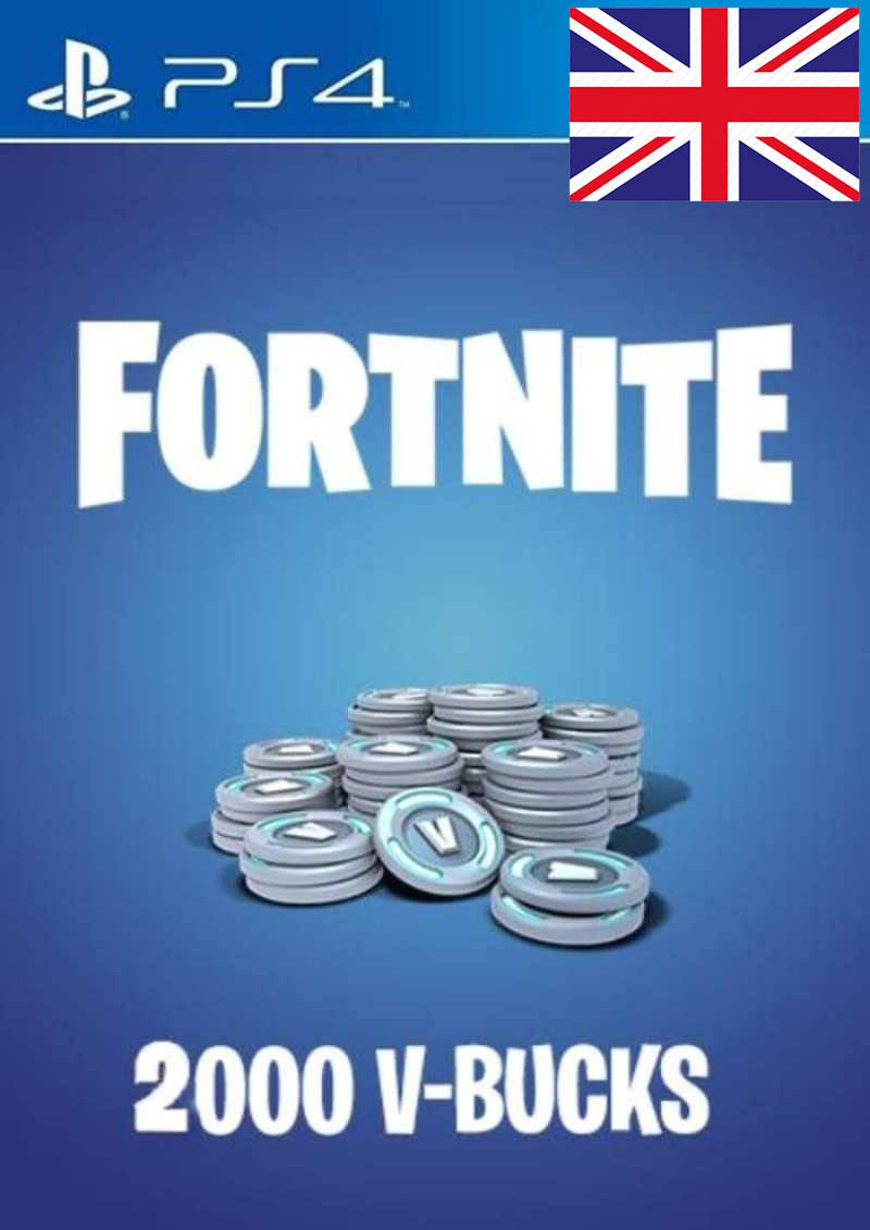 PS4 V-Bucks 2000 za igru FORTNITE Prepaid Card UK nalog