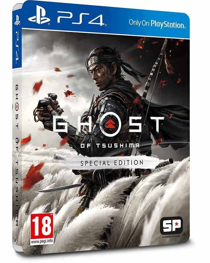 PS4 Ghost Of Tsushima - Special Edition