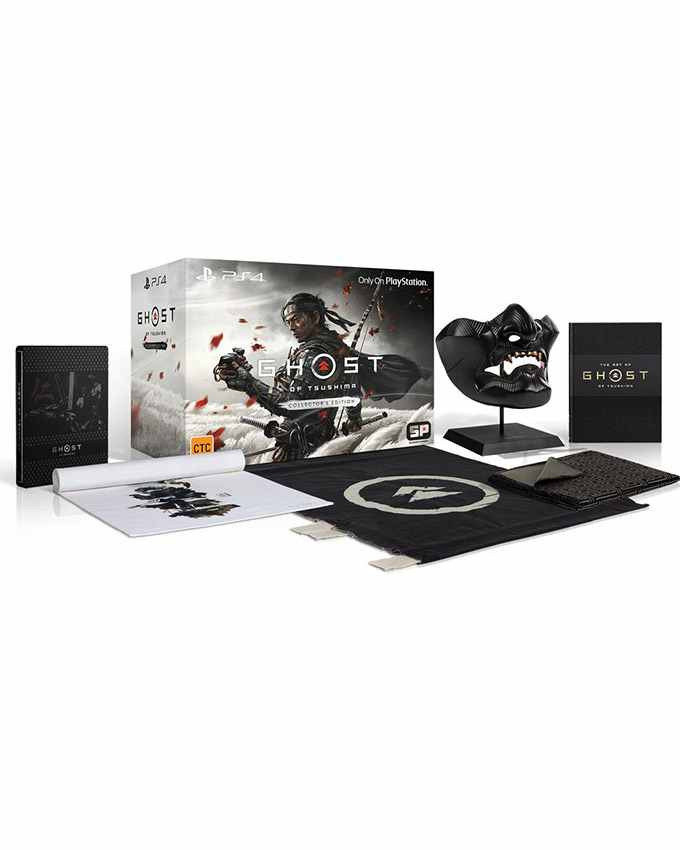 PS4 Ghost Of Tsushima - Collectors Edition