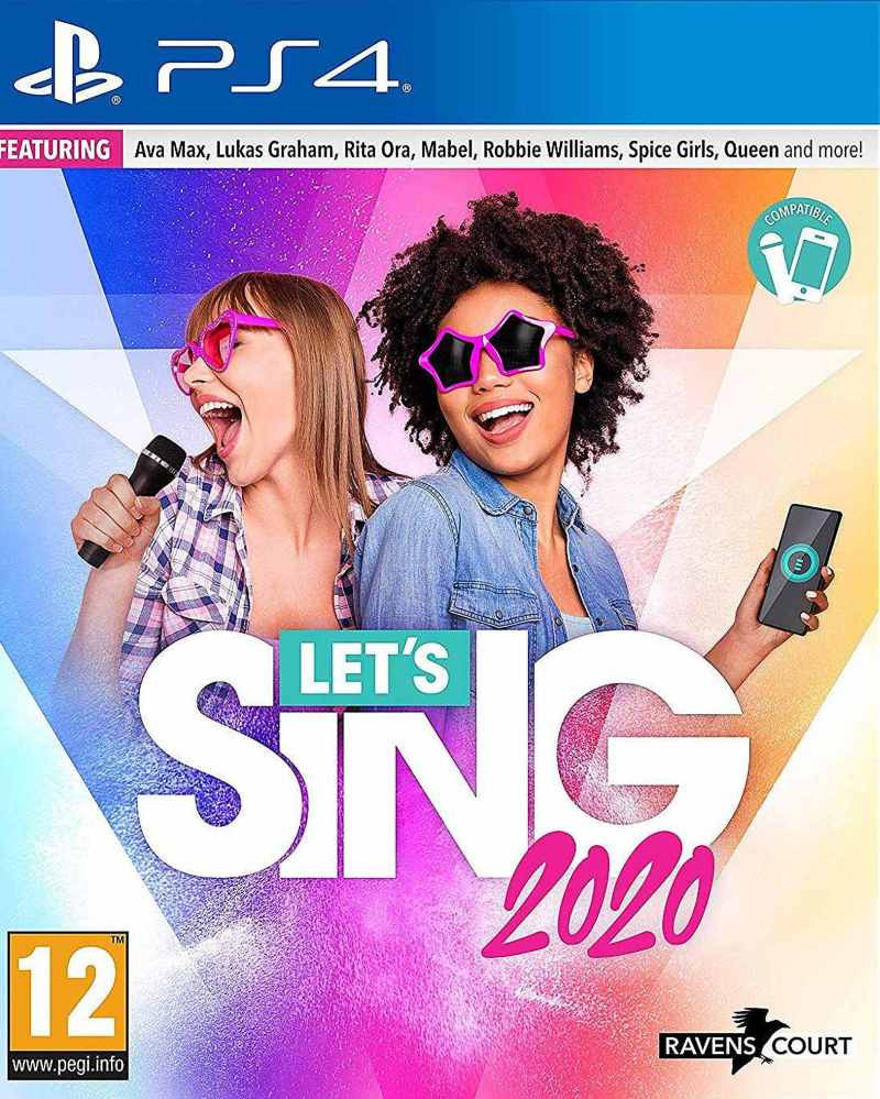 PS4 Lets Sing 2020