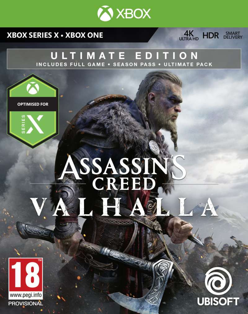XBOX ONE Assassins Creed Valhalla - Ultimate Edition