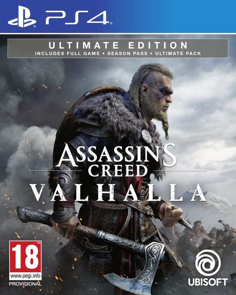 PS4 Assassins Creed Valhalla - Ultimate Edition