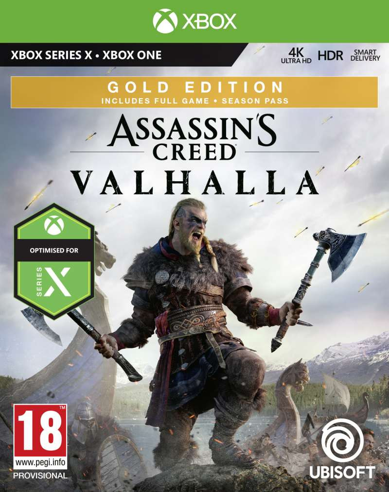 XBOX ONE Assassins Creed Valhalla - Gold Edition
