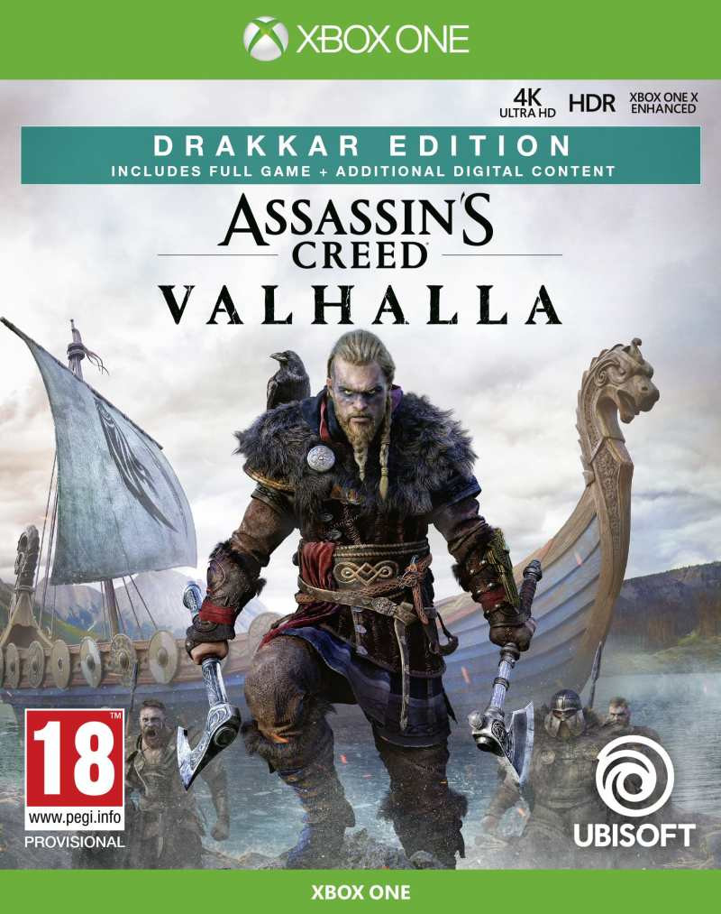 XBOX ONE Assassins Creed Valhalla - Drakkar Special Day1 Edition