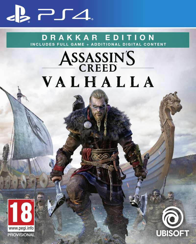PS4 Assassins Creed Valhalla - Drakkar Special Day1 Edition