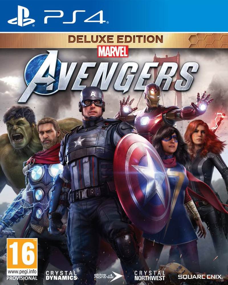 PS4 Marvels Avengers - Deluxe Edition