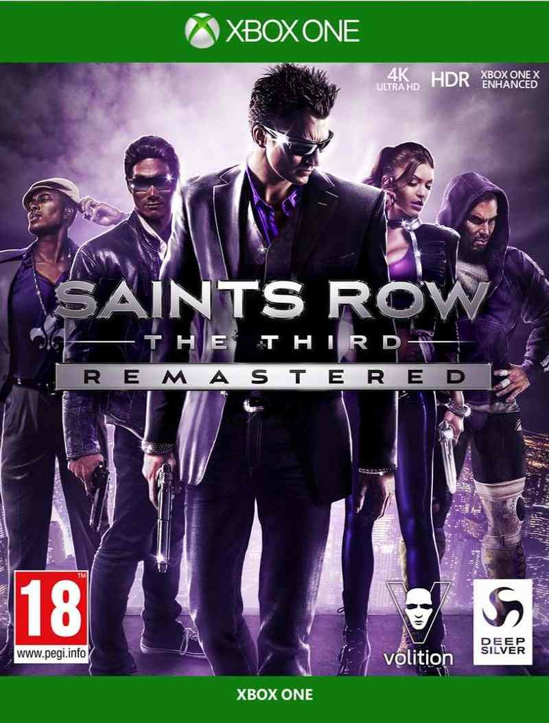 XBOX ONE Saints Row The Third Remastered