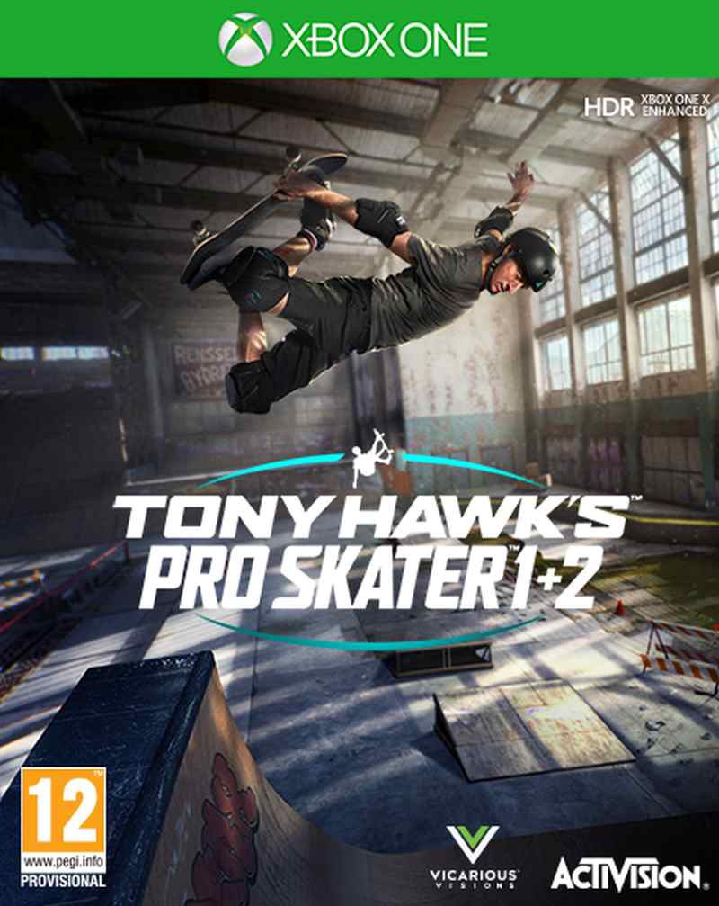 XBOX ONE Tony Hawks Pro Skater 1 and 2