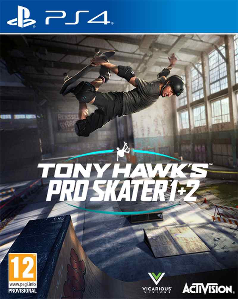 PS4 Tony Hawks Pro Skater 1 and 2