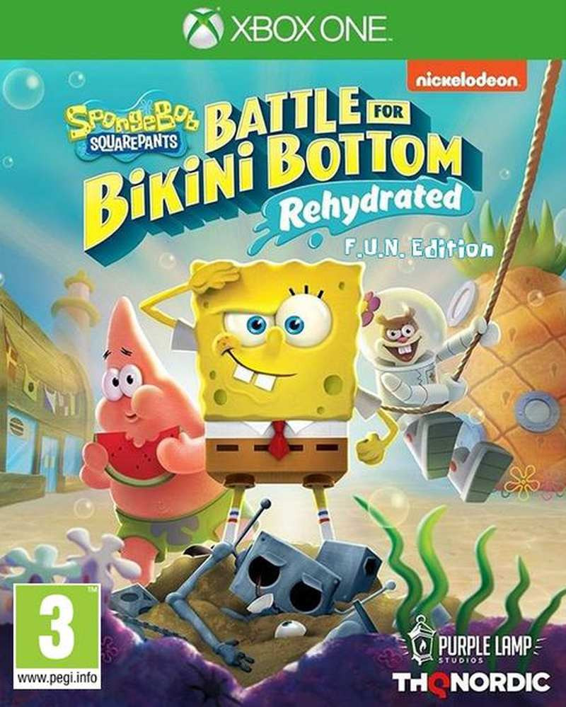 XBOX ONE Spongebob SquarePants - Battle for Bikini Bottom - Rehydrated - F.U.N. Edition