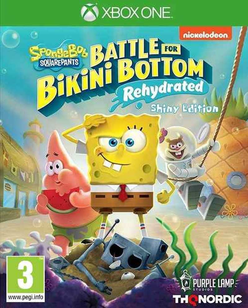 XBOX ONE Spongebob SquarePants - Battle for Bikini Bottom - Rehydrated - Shiny Edition