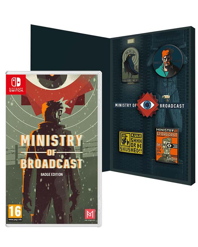 SWITCH Ministry of Broadcast - Collectors Edition