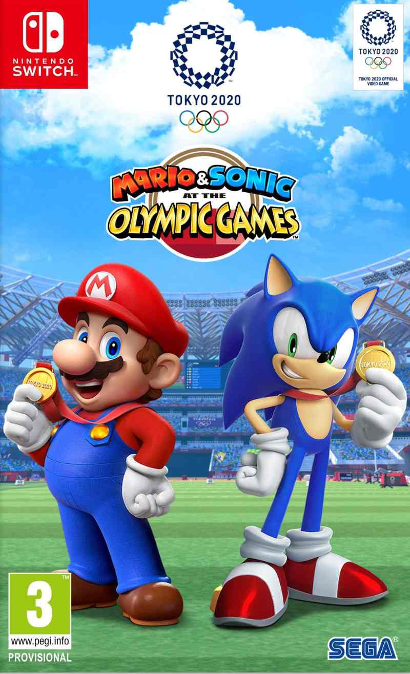 SWITCH Mario And Sonic At The Tokyo Olimpics Games 2020