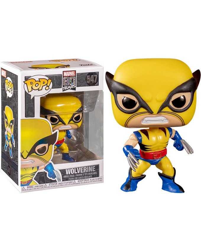 Figura POP! Marvel 80th - First Appearance Wolverine