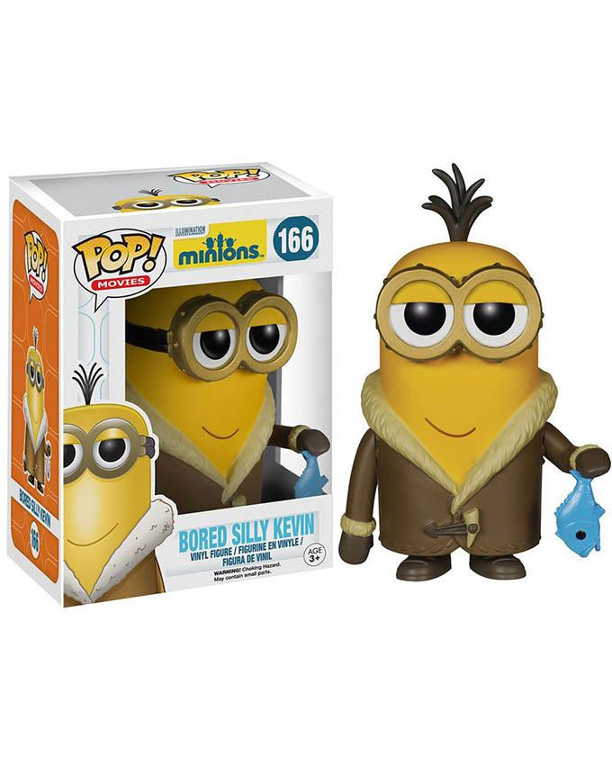 Figura POP! Minions - Bored Silly Kevin
