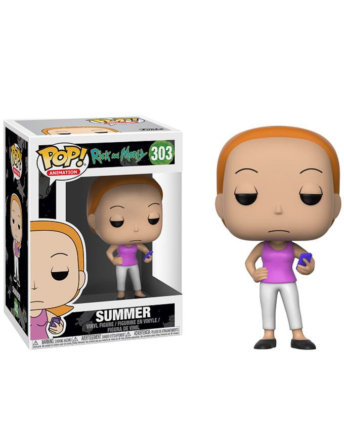 Figura POP! Rick and Morty - Summer