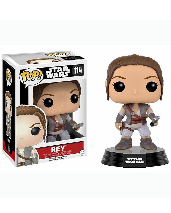 Figura POP! Star Wars EP7 - Rey Final Scene Outfit