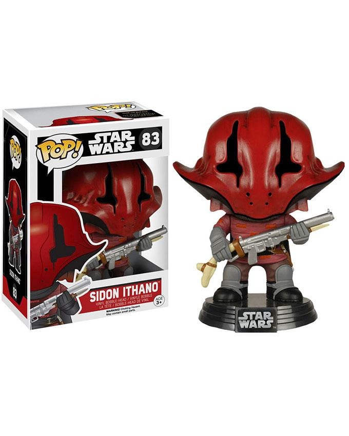 Figura POP! Star Wars EP7 - Booble-Head Sidon Ithano