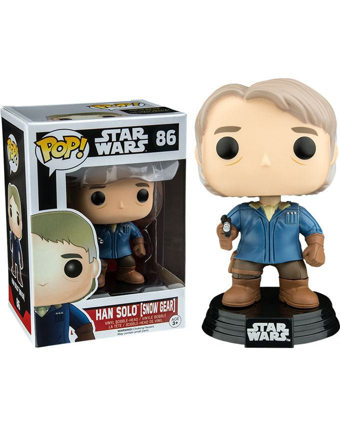 Figura POP! Star Wars - Han Solo Snow Gear