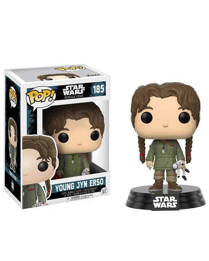 Figura POP! Star Wars Rogue One - Young Jyn Erso