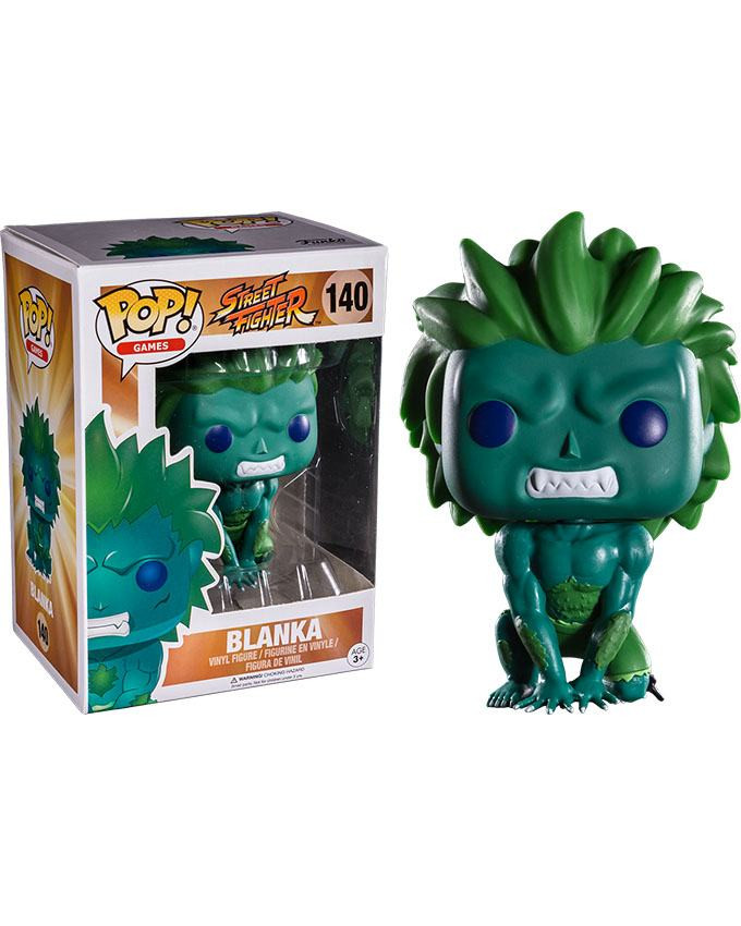 Figura POP! Street Fighter - Blanka Blue-Green