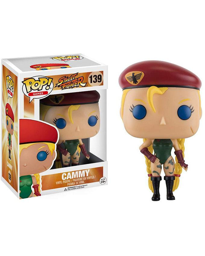 Figura POP! Street Fighter - Cammy