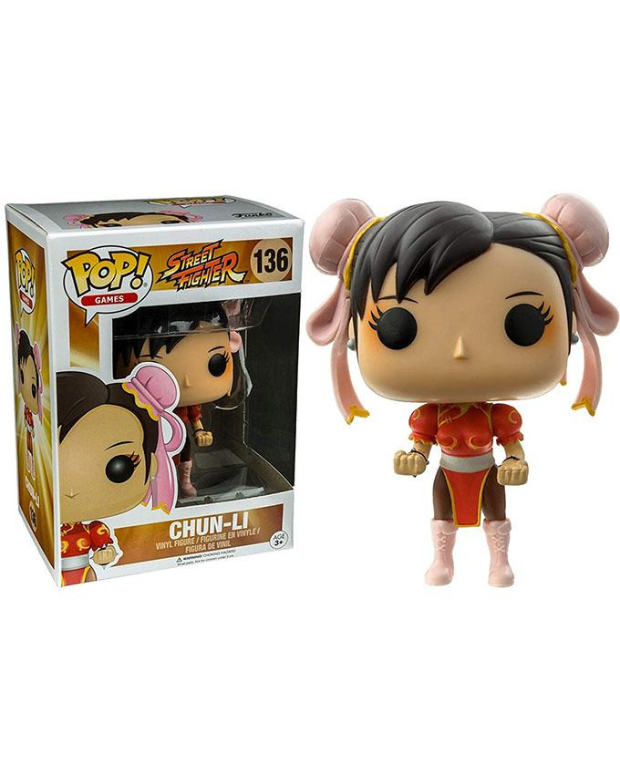 Figura POP! Street Fighter - Chun-Li (Red)