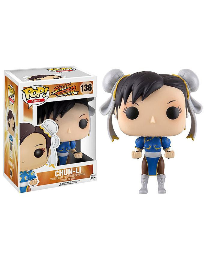 Figura POP! Street Fighter - Chun-Li