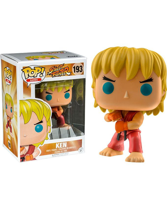 Figura POP! Street Fighter - Ken (Special Attack)