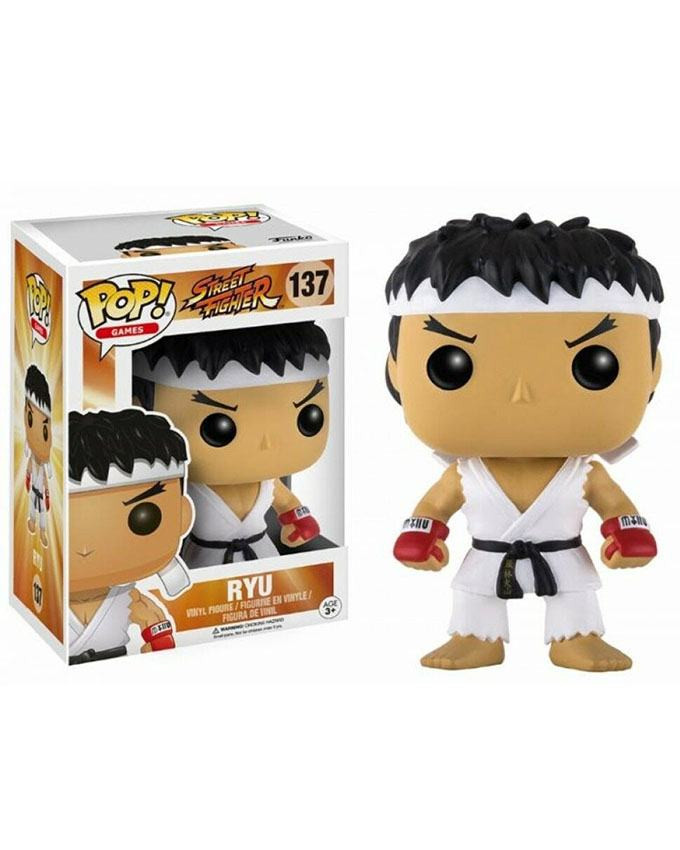 Figura POP! Street Fighter - Ryu White Headband
