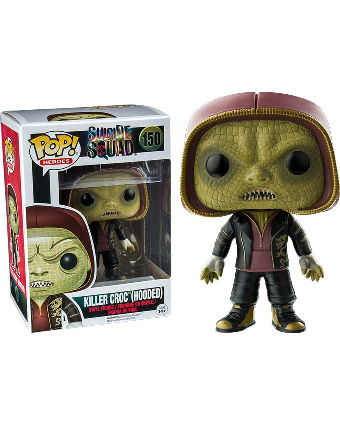 Figura POP! Suicide Squad - Killer Croc Hooded