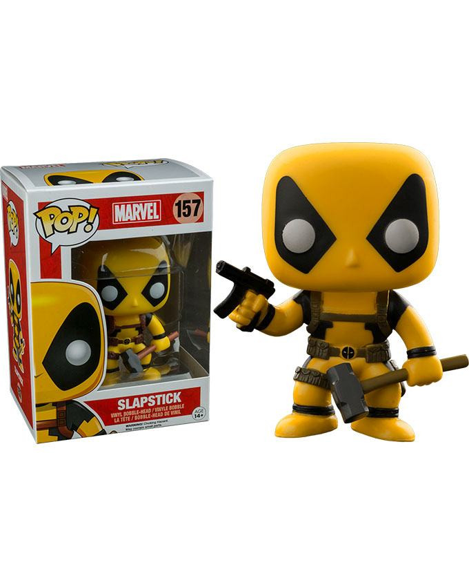 Figura POP! Marvel Deadpool - Slapstick