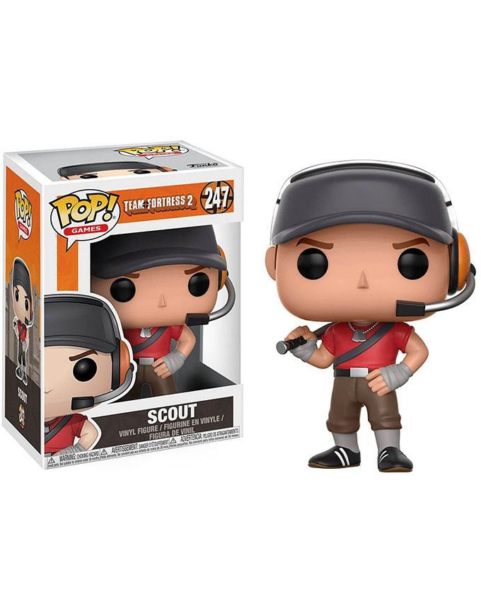 Figura POP! Team Fortress 2 - Scout